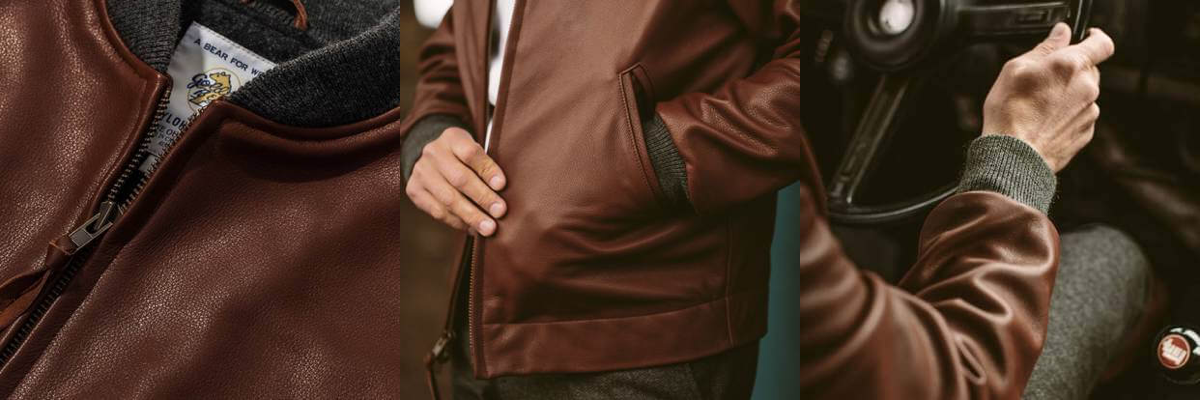 434a24ca3 Leather Bomber Jacket - Taylor Stitch | Whisky + Tailor