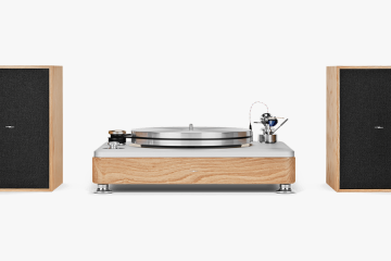 The Runwell Turntable – Shinola Audio